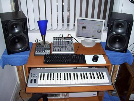 Estudio en Casa y Produccion Musical
